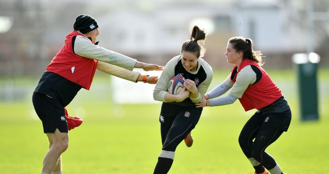 Highlights of the Women's Six Nations clash between England and Italy