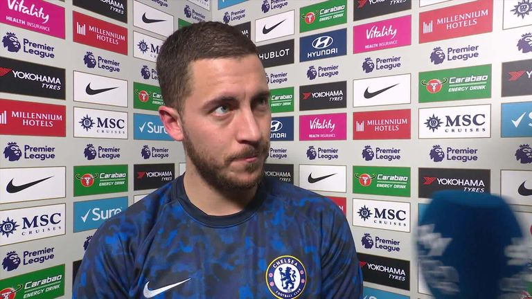 EPL: What Eden Hazard said after Chelsea's 1-1 draw with Wolves
