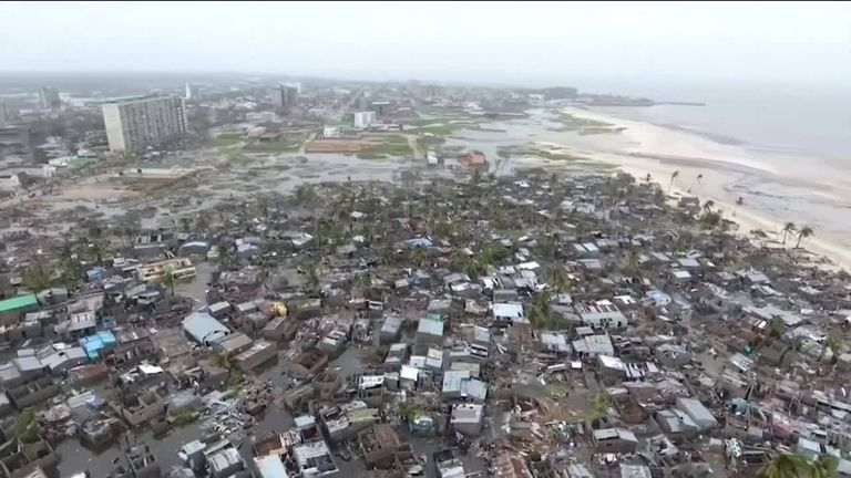 Number killed in southeast Africa Cyclone Idai rises to 350
