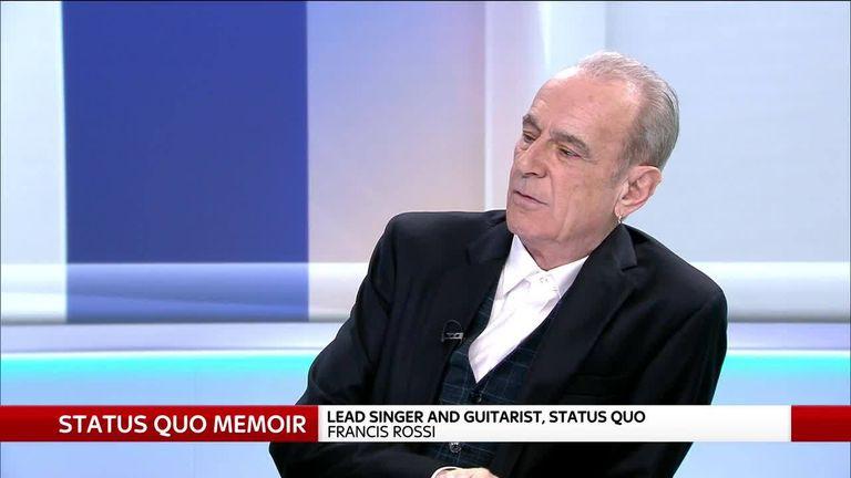Status Quo's Francis Rossi