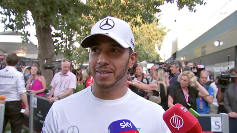 Lewis Hamilton: Mercedes 'shocked' after thrashing Ferrari in Australia qualifying | F1 News
