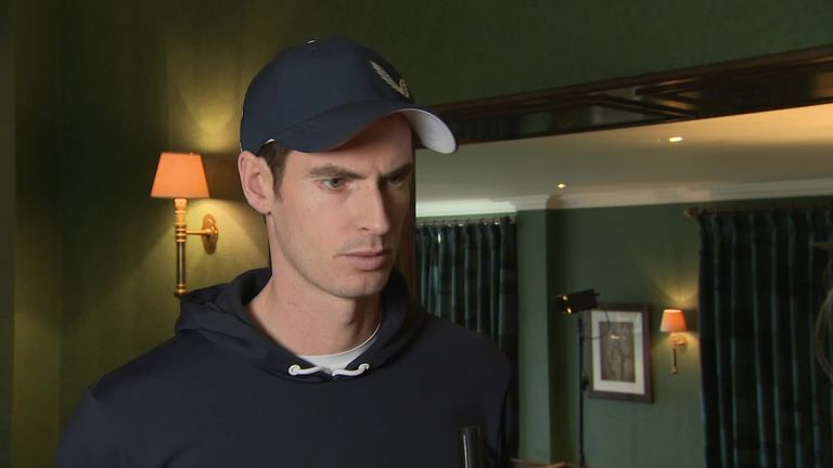 Andy Murray 'pain-free' but unsure over future after hip surgery