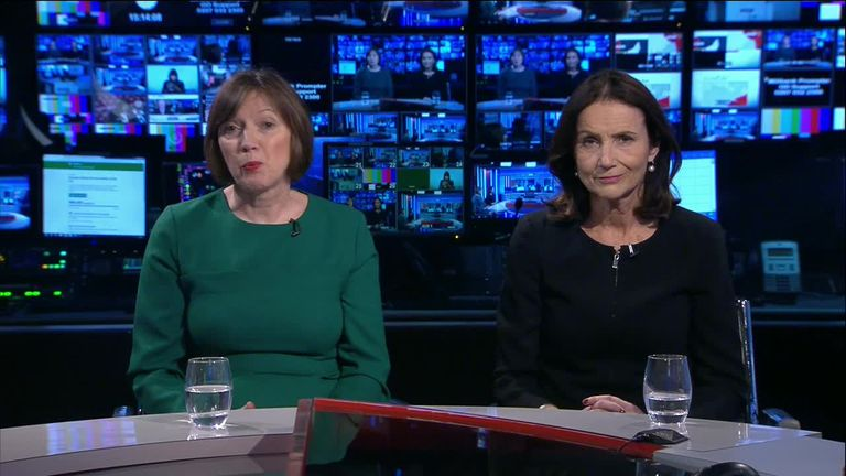 Frances O'Grady and Carolyn Fairbairn