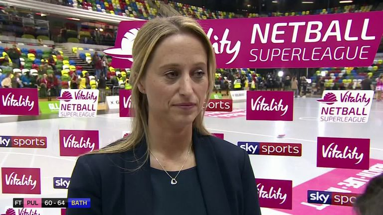 Listen to the full thoughts of Jess Thirlby after their victory over London Pulse