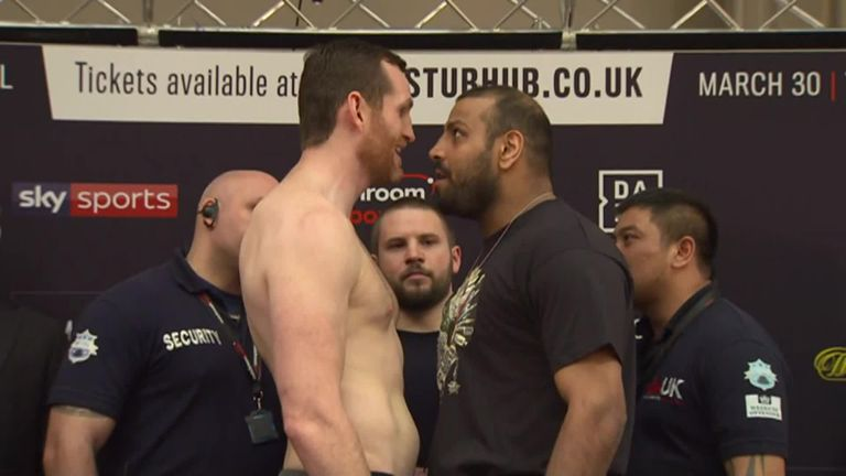 British heavyweight fight turns ugly with Kash Ali disqualified for biting