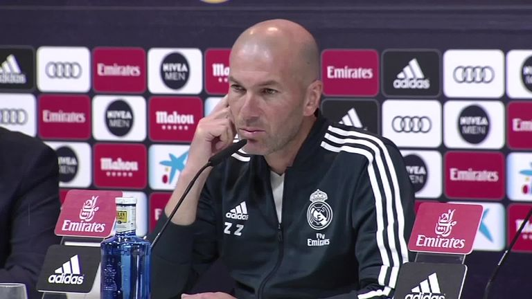Real Madrid boss Zinedine Zidane confesses his admiration for Manchester United midfielder Paul Pogba