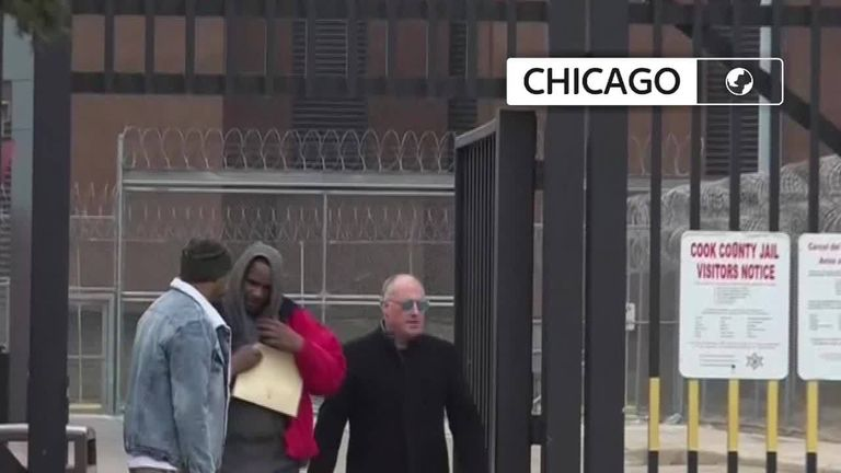 R Kelly has been released from jail after 'someone' payed $161,000 of overdue child support on his behalf.