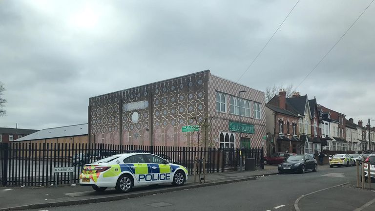 The Mosque and Muslim Community Centre in Albert Road, Aston