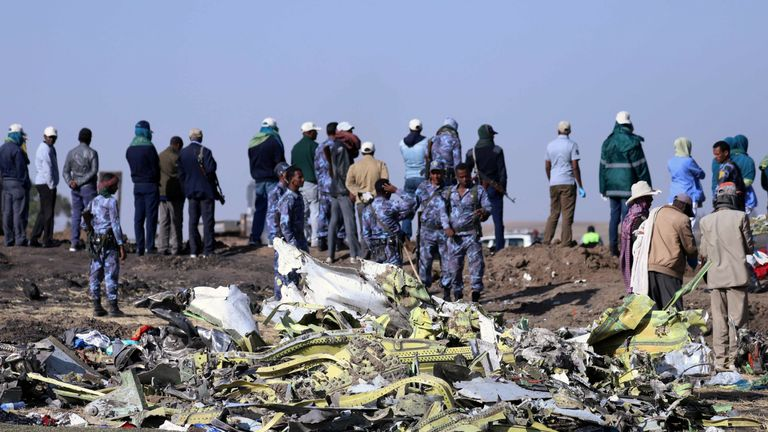 All 157 people on board the flight were killed in the crash