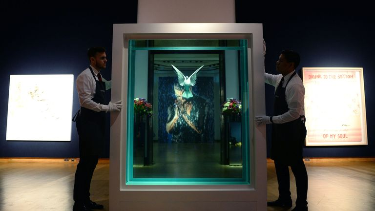 The Incomplete Truth by Damien Hirst