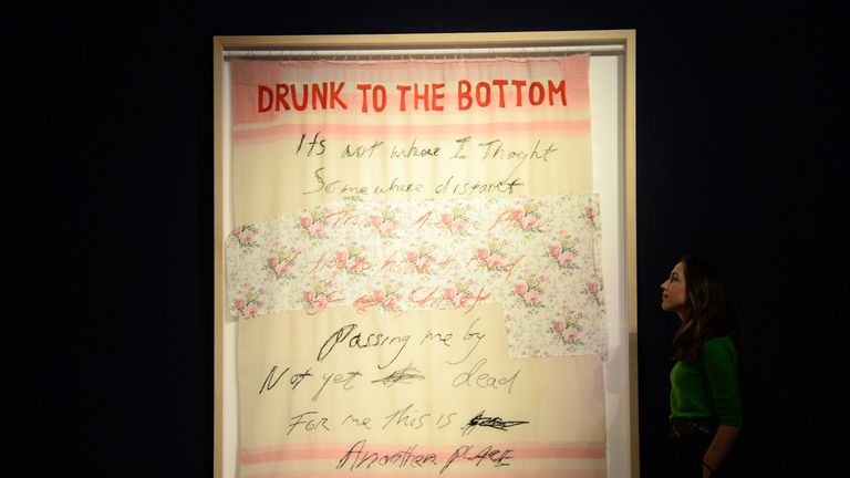Drunk to the Bottom of My Soul by Tracey Emin