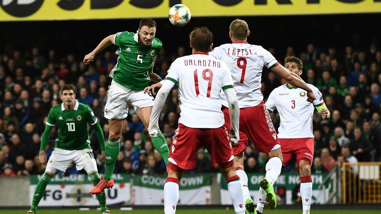 EURO 2020 qualifiers: Belarus lose to Northern Ireland