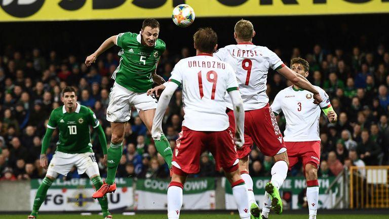 Late Goal Puts NI Top Of Euro 2020 Qualifying Group