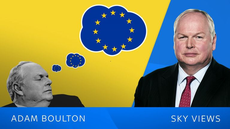 Adam Boulton dreaming of Brexit