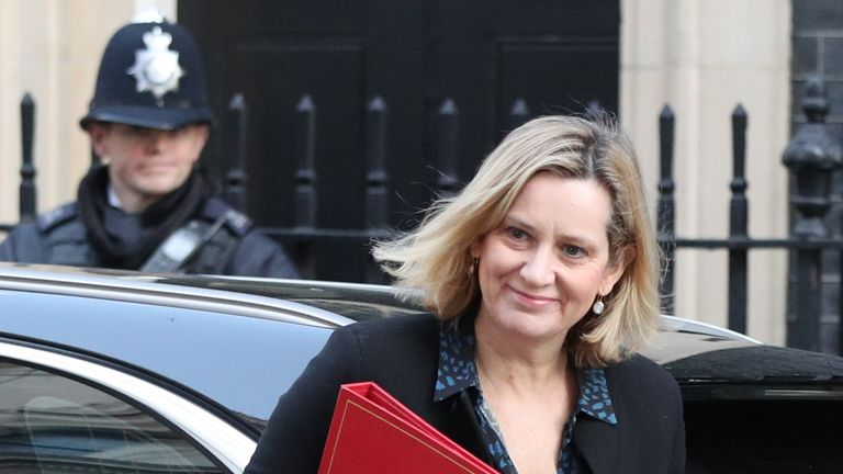 Works and Pensions Secretary Amber Rudd