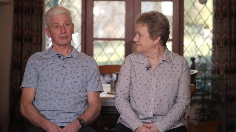 Caroline and Bob Schilt felt he should have taken responsibility
