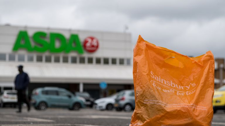 Asda and Sainsburys