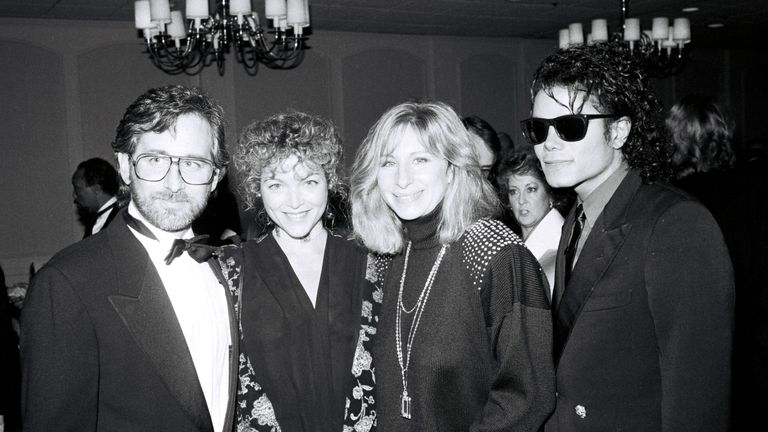 Barbra Streisand and Michael Jackson