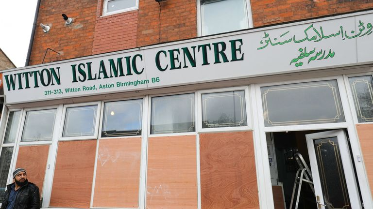 The Witton Islamic Centre on Witton Road, Birmingham