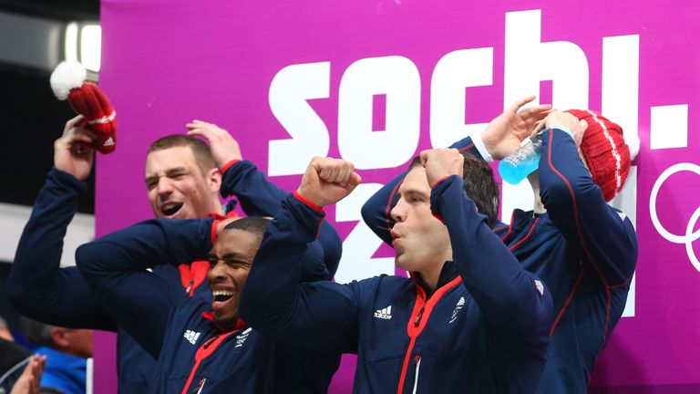 The Team GB sledders missed out on third place by fractions of a second