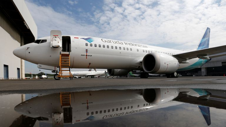 The jet has bee grounded across the world after two fatal crashes