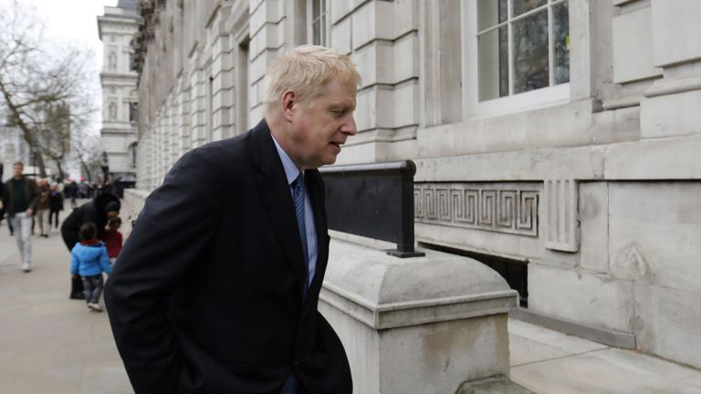 Boris Johnson was called a 'friend' of the US president