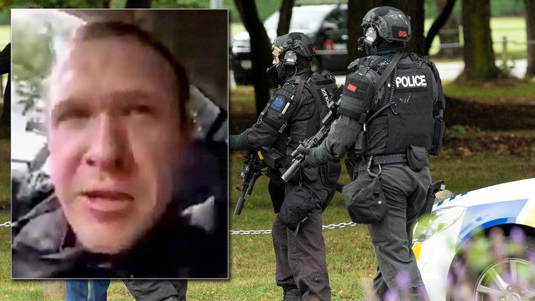 On social media the attacker calls himself Brenton Tarrant.