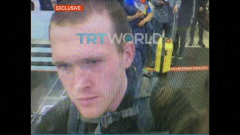The alleged New Zealand mosque attacker was pictured visiting Turkey