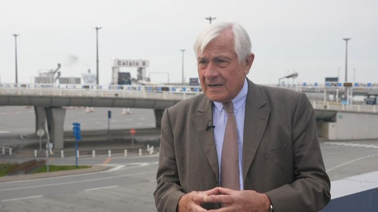 The boss of the port of Calais, Jean Marc Puissesseau