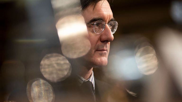 Jacob Rees-Mogg said theDUP's support would be a significant factor in whether he backed the deal