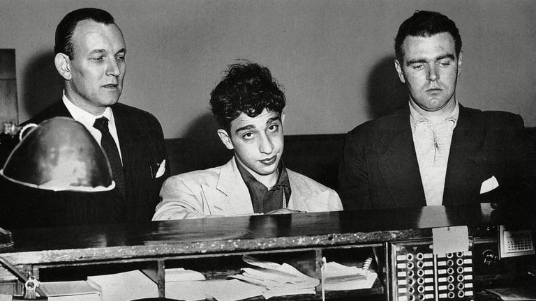 Carmine Persico aged 17 after being arrested in 1951