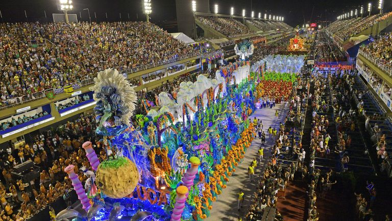 Brazil's carnivals are colourful, care free events that take place all over the country