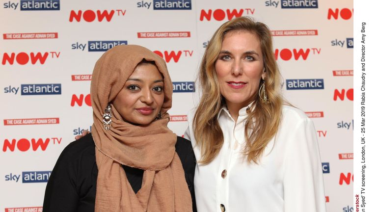 'The Case Against Adnan Syed' TV screening, London, UK - 25 Mar 2019