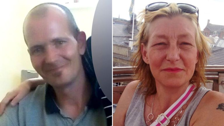 Charlie Rowley and Dawn Sturgess were affected by novichock in Amesbury
