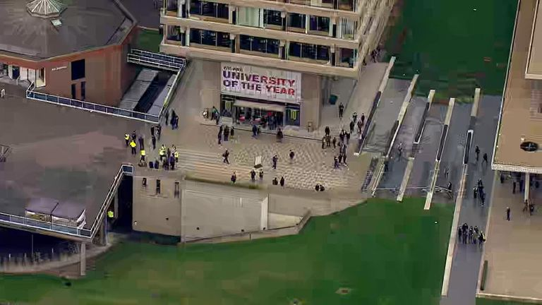 Suspicious package at University of Essex in Colchester