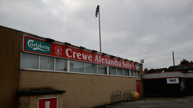Barry Bennell was a youth-team coach at Crewe Alexandra