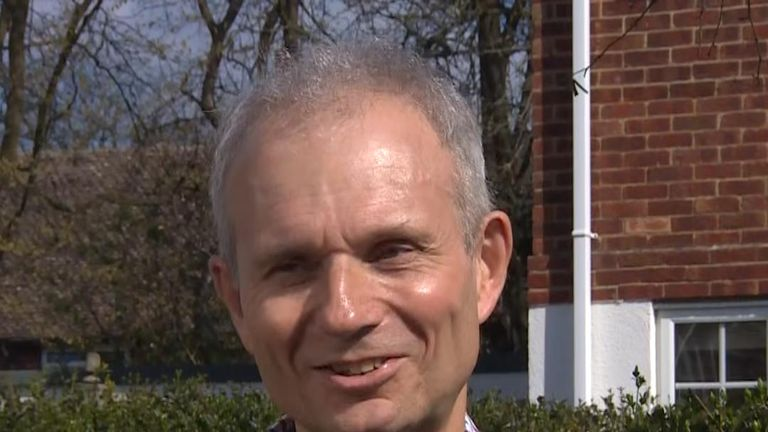 David Lidington laughs-off suggestions he is plotting to take over as prime minister