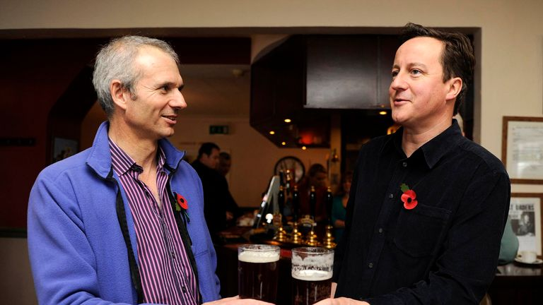 David Lidington pictured with David Cameron in 2010