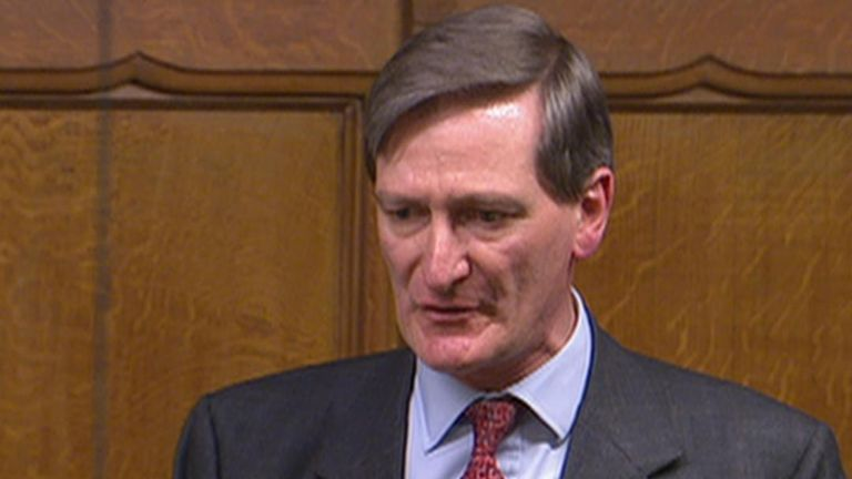 Dominic Grieve expresses shame at being a member of the Conservative Party as the Brexit impasse continues