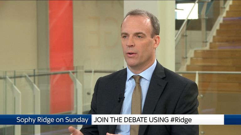 Dominic Raab, Tory MP