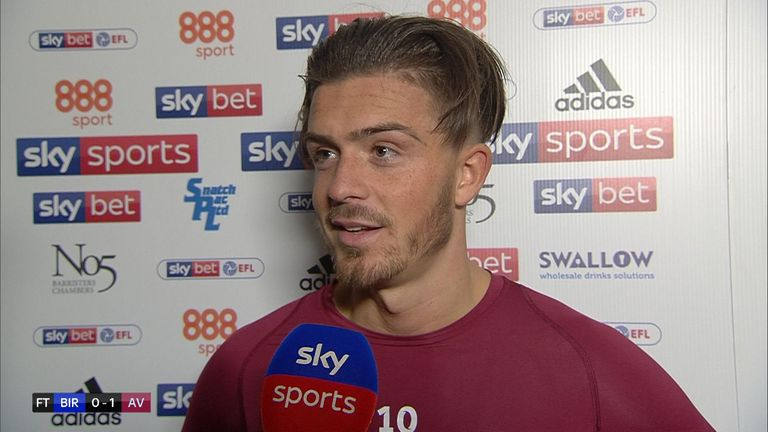 In his post-match interview he said he got a 'whack' on his head and said it had no place in football.