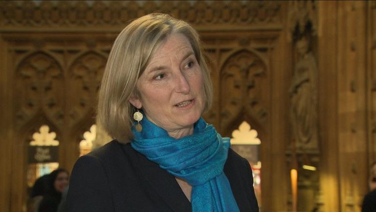 Dr Sarah Wollaston whose Amendment H called for a second Brexit referendum.