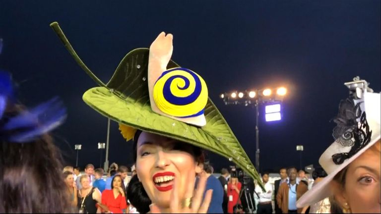 Spectators at the Dubai World Cup contested fiercely for best outfit awards, creating a lot of fun off the racecourse.