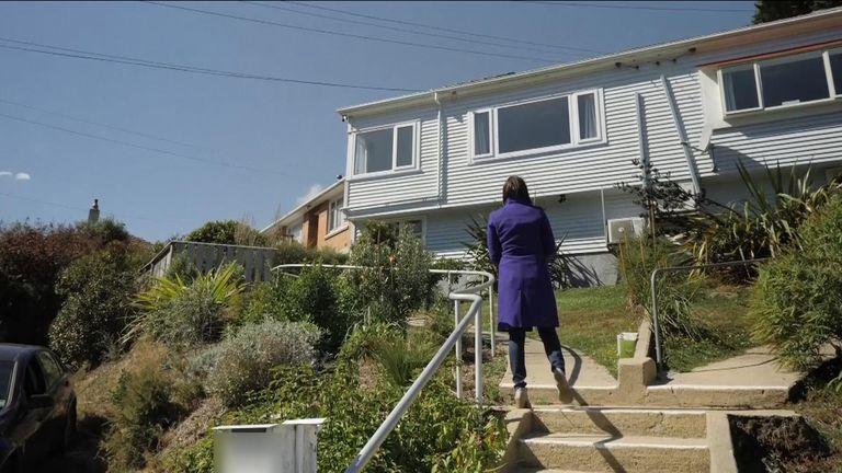 The Dunedin house where Brenton Tarrant lived