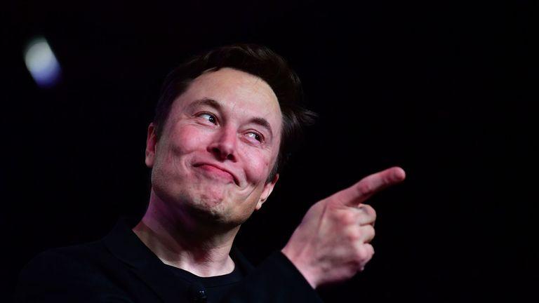 Elon Musk launches the Tesla Model Y