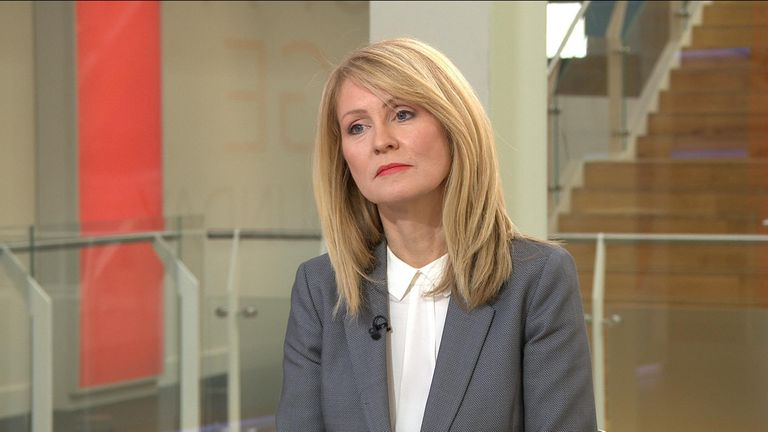 Esther McVey now says she'll support the Brexit plan she previously resigned over.