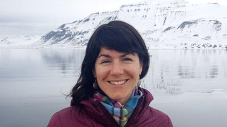 Sarah Auffret was a polar tourism expert. Pic: AECO