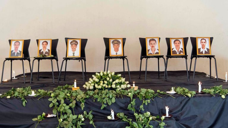 Ethiopian Airlines crew members were among the 157 who died
