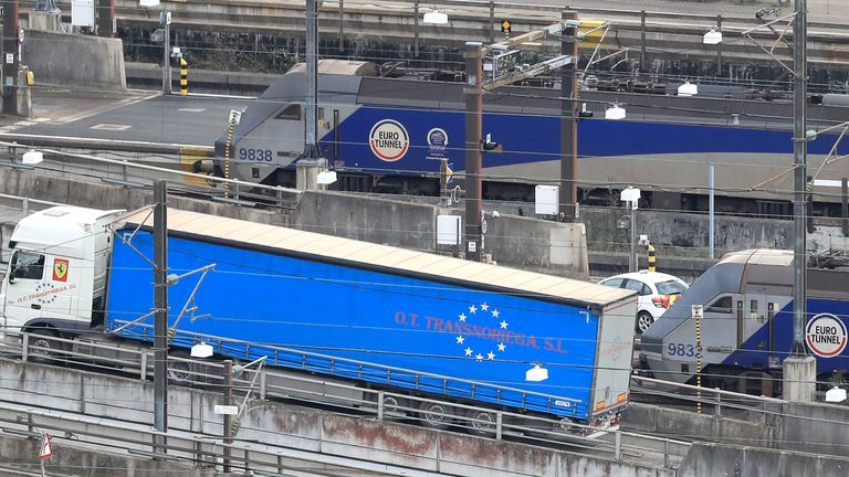 The taxpayer money will be used by Eurotunnel to help improve security and traffic flow at its UK terminal