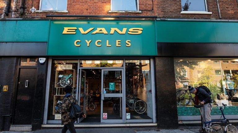 Evans Cycles Becomes Latest Acquisition